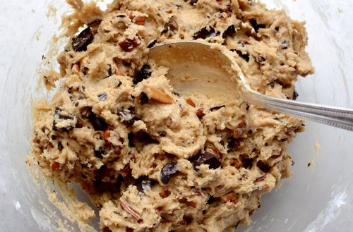 Eating Raw Cookie Dough